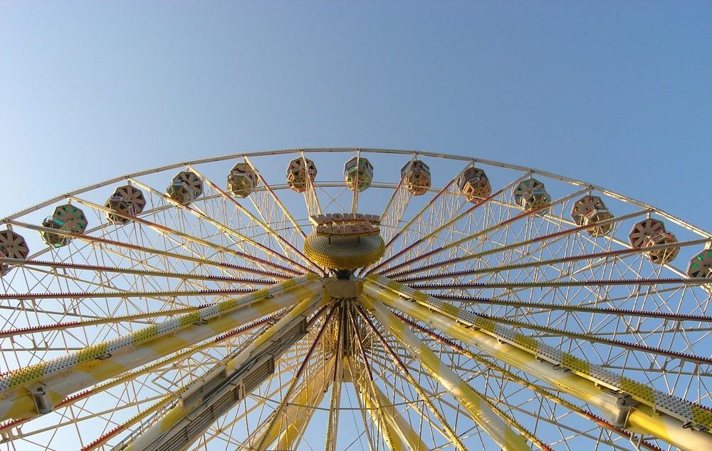 """Riesenrad """"Wonder Wheel"""" . . ."""