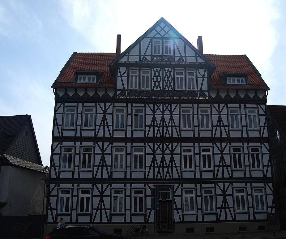 Riesiges Fachwerkhaus in Goslar