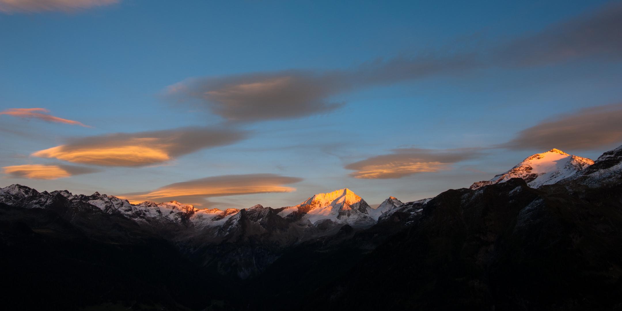 """""""Rießerferner im Abendlicht"""" Südtirol/Ahrntal"""