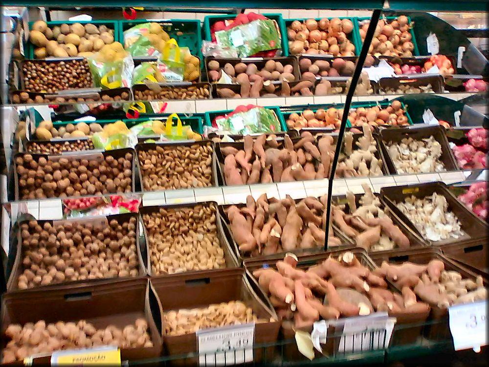 Rifflessi in supermercato.