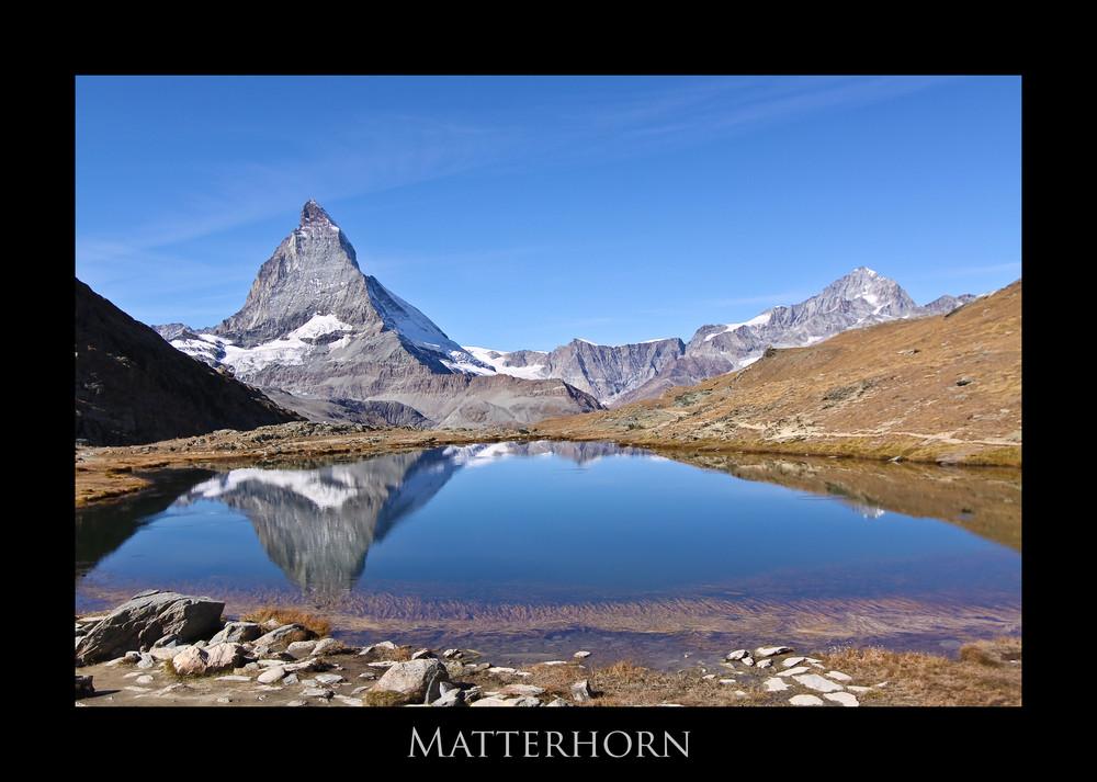 Rifflsee mit Matterhorn