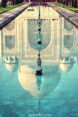 Riflessi - Taj Mahal