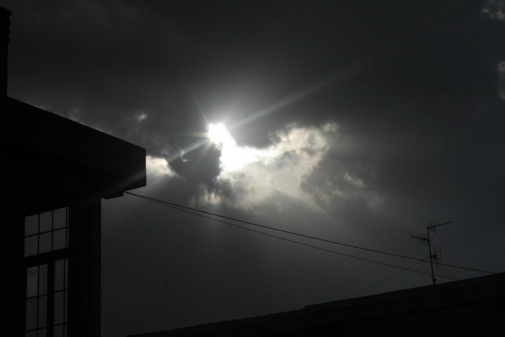 riflesso di sole