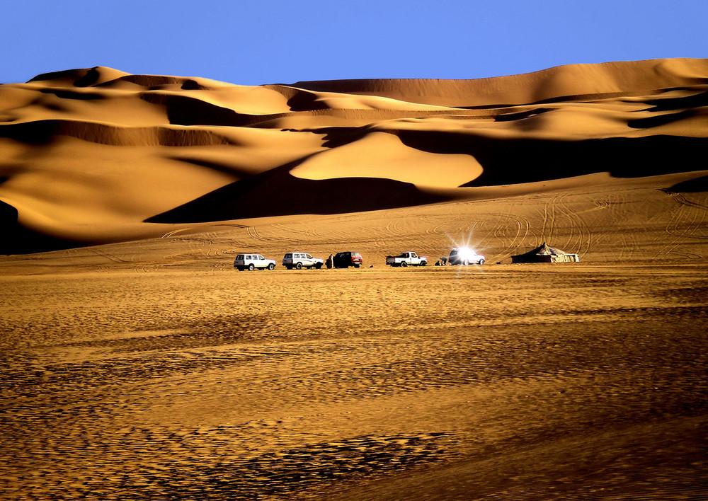 Riflesso nel sahara