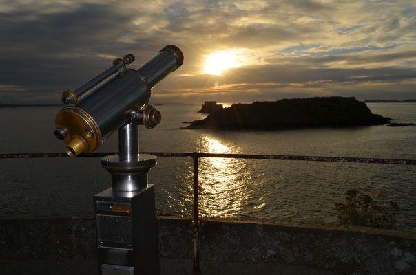 Riflesso nel tramonto