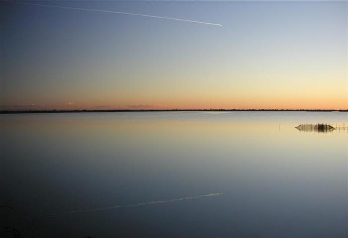 Riflesso sulla laguna