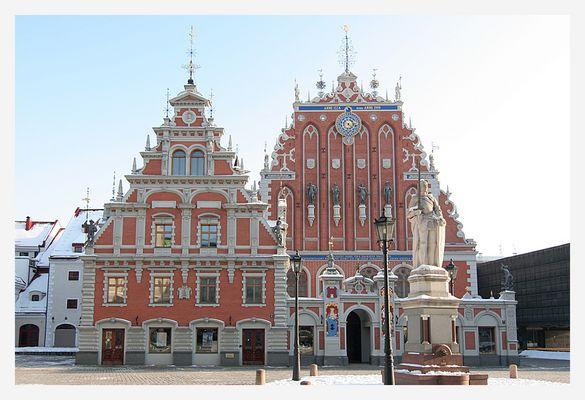 - Riga 10 - Schwarzhäupterhaus