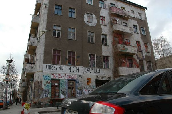 Rigaerstraße - Wir sind nicht käuflich