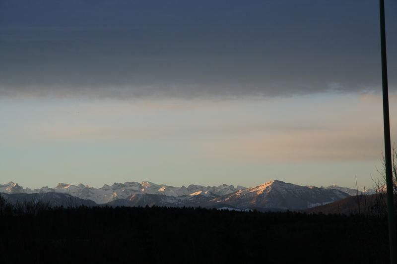 Rigi und Glarner Alpen