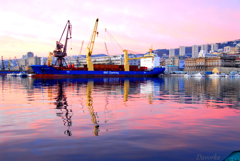 Rijeka Hafen