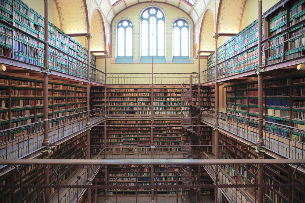 Rijksmuseum Library Amsterdam