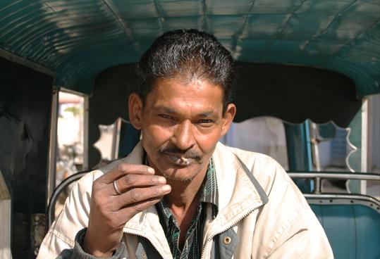 riksha driver