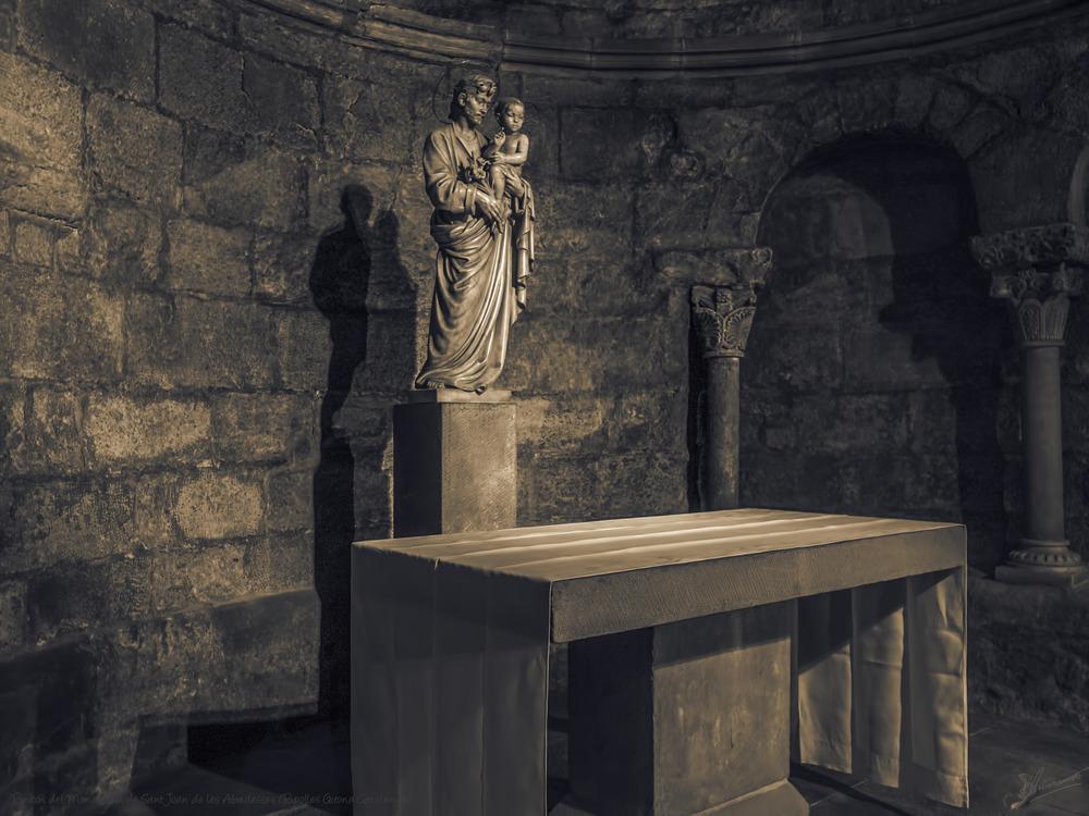 Rincón del Monasterio de Sant Joan de les Abadesses (Ripolles Girona Catalunya)