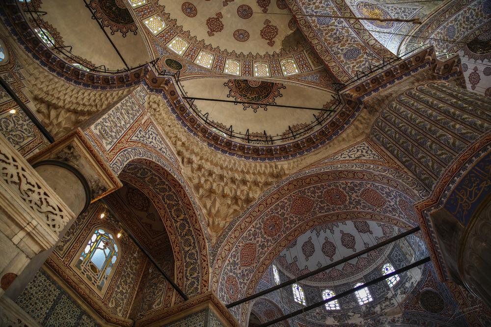 Rincones 2 interior Mezquita Azul (Estambul Turquia)
