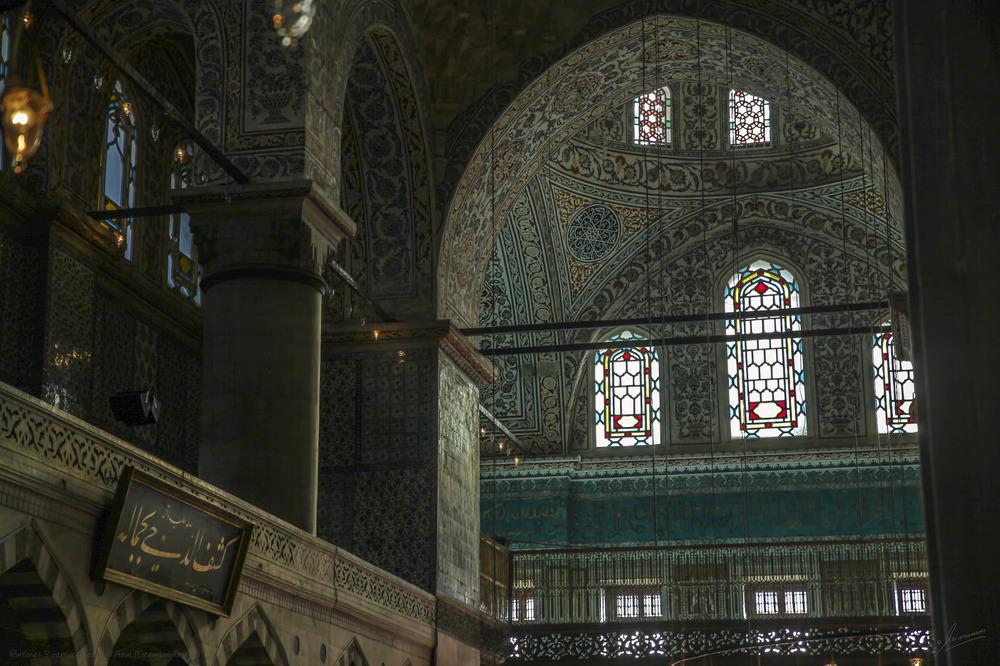 Rincones 3 interior Mezquita Azul (Estambul Turquia)