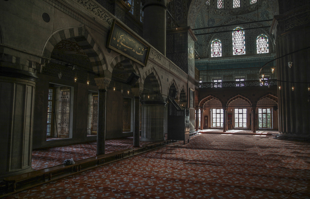 Rincones 5 interior Mezquita Azul (Estambul Turquia)