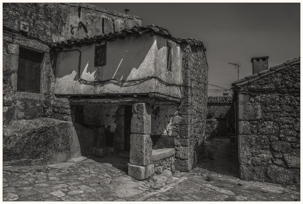 Rincones de Trevejo II BN (Sierra de Gata Villamiel Cáceres Extremadura España)