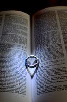 Ring mit Schatten