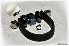 Ring, schwarz