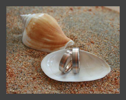 Ringe am Strand