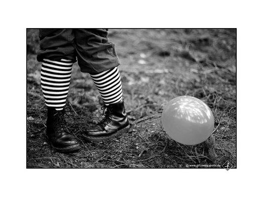 Ringelwadenluftballonbild