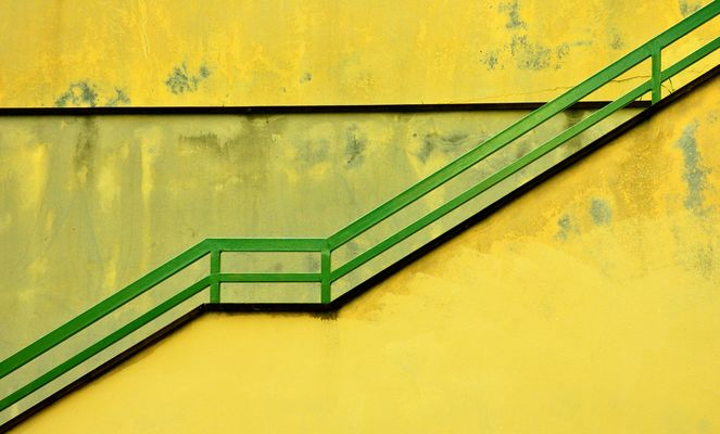 ringhiera verde