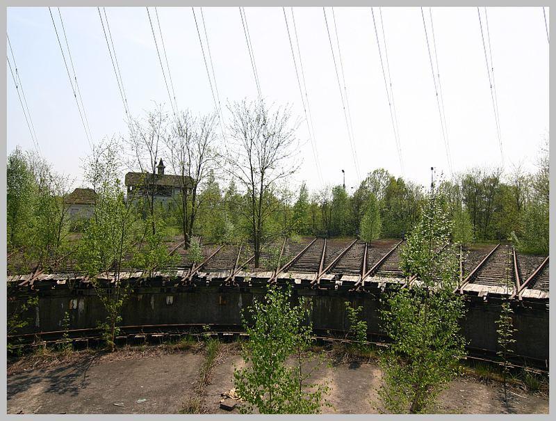 Bahnhof Löhne ringlockschuppen in löhne bahnhof oder das was davon noch über ist 2