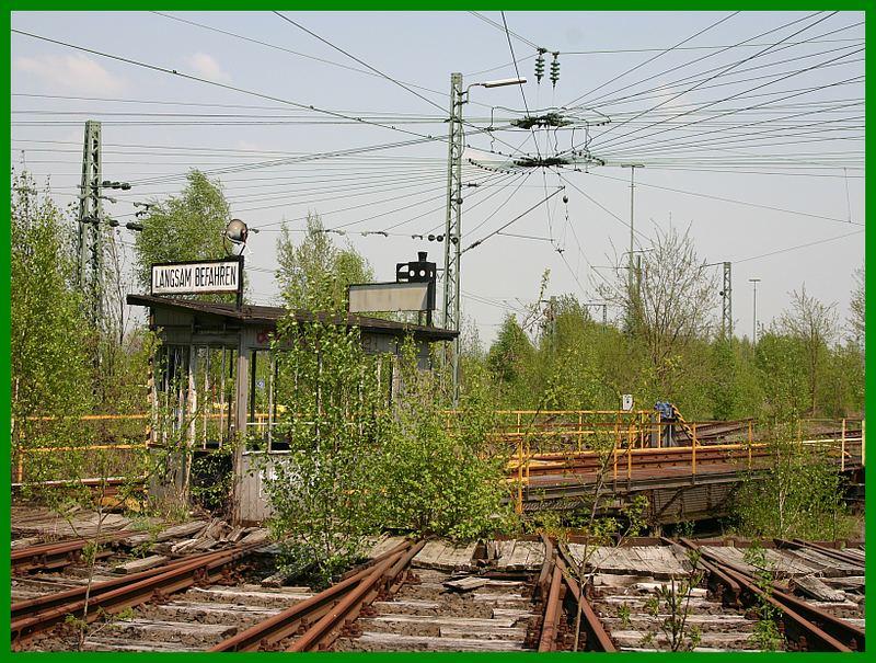 Bahnhof Löhne ringlockschuppen in löhne bahnhof oder das was davon noch über ist 6