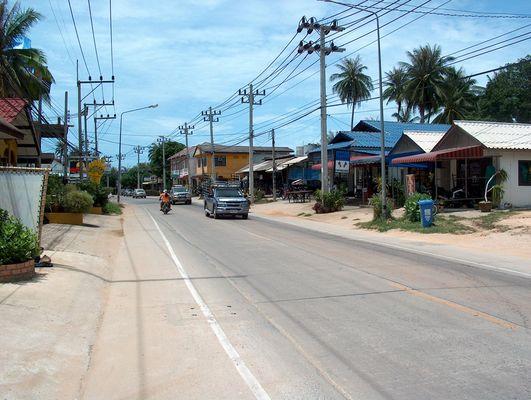 Ringstraße an der Lamei