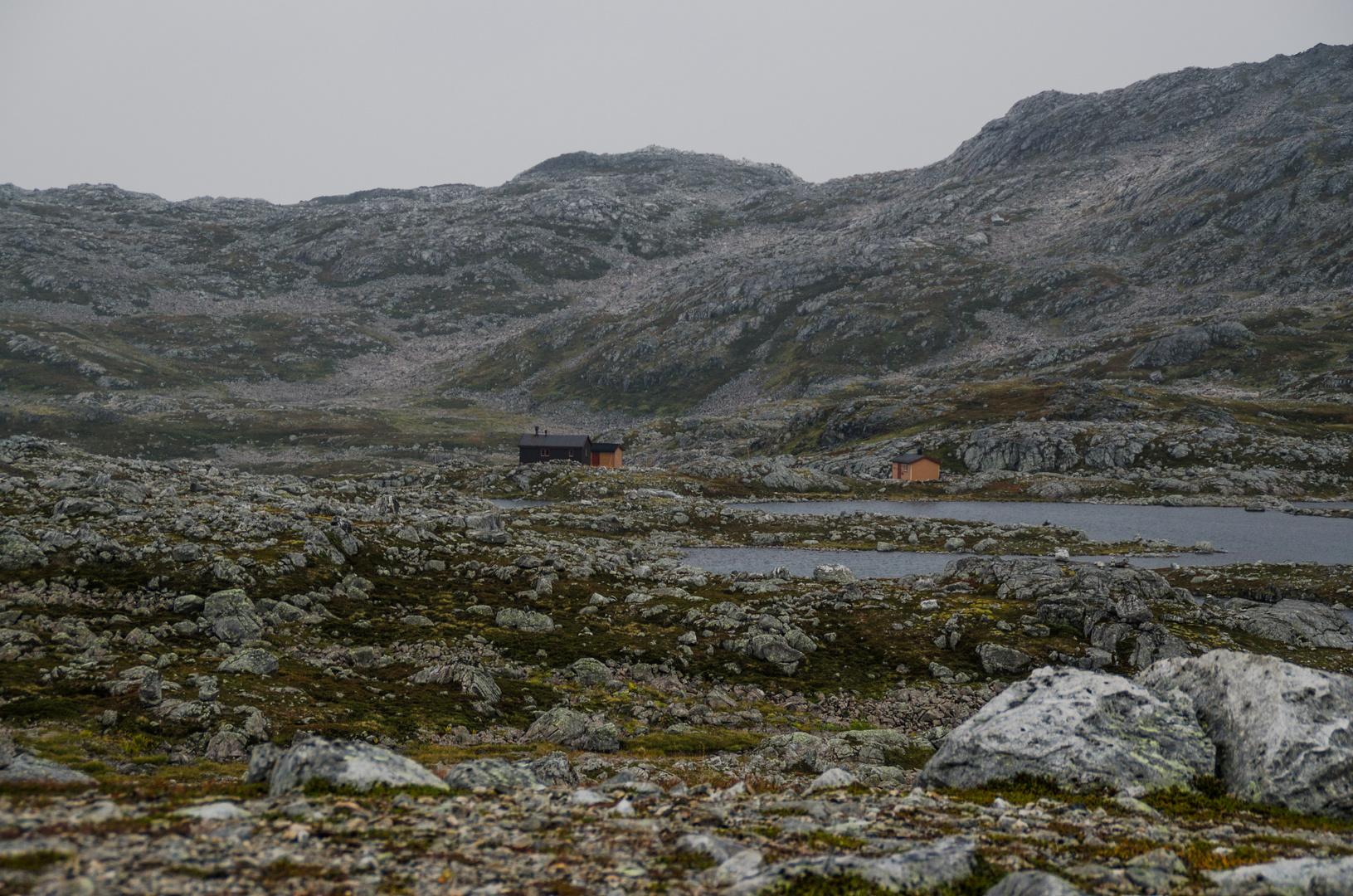 Ringvassbu die Hütte auf Ringvassoy kam näher