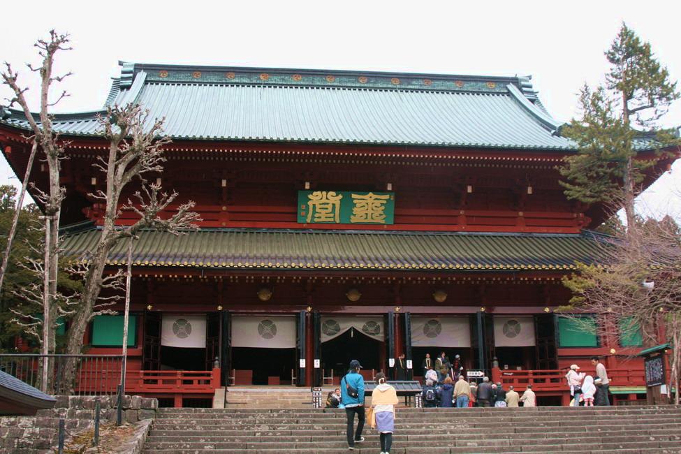 Rinno-ji in Nikko