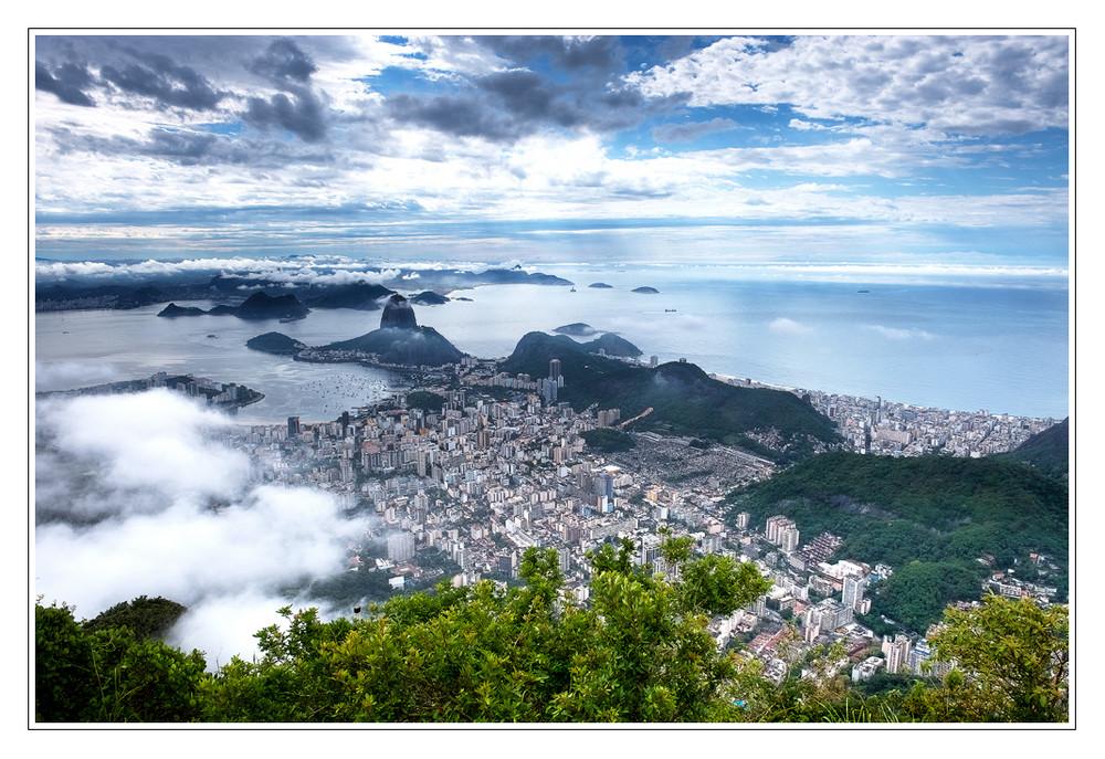 Rio - Blick vom Corcovado