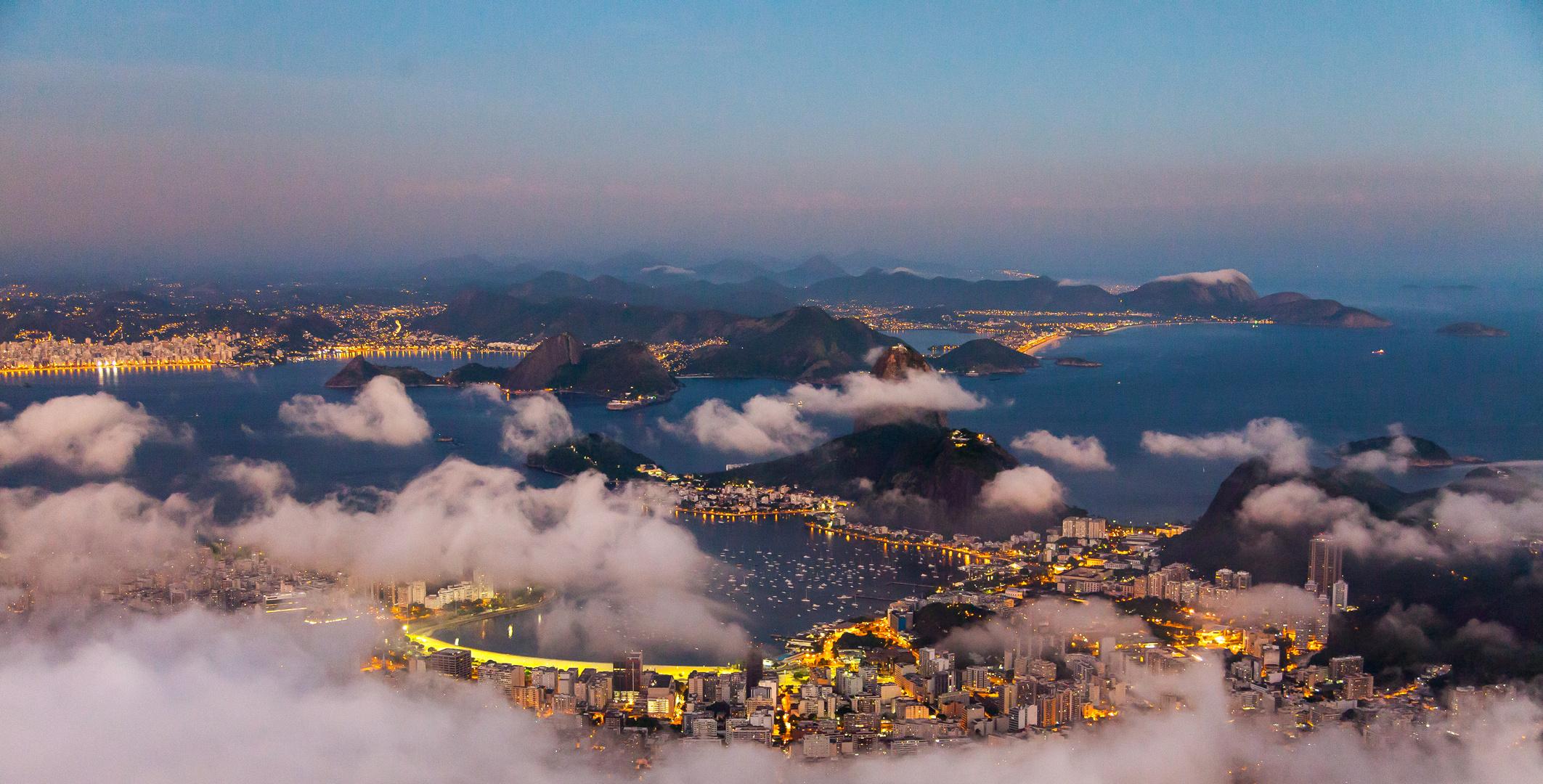 Rio - Blick von Corcovado