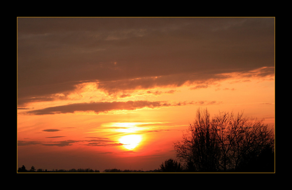 Rio de Balkonia Sunset...