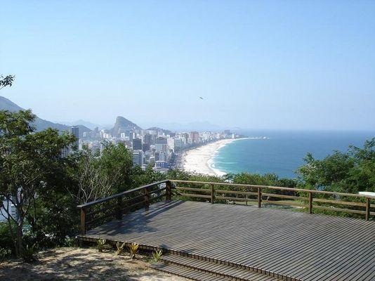 Rio de Janeiro: Ipanema Leblon beach von oben
