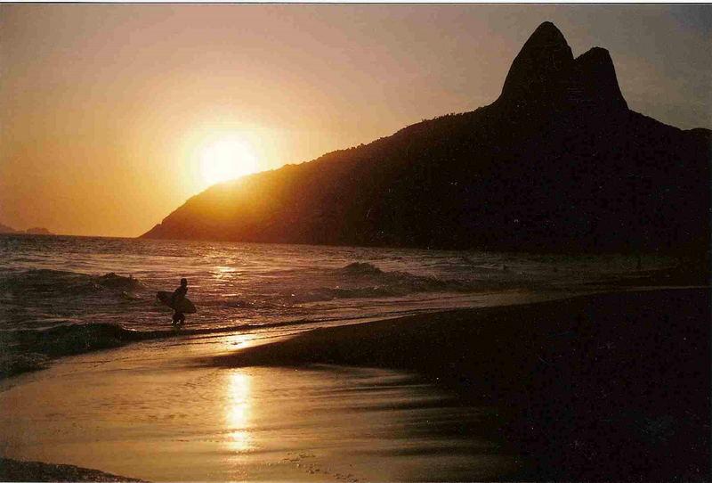 Rio de Janeiro - Leblon sunset