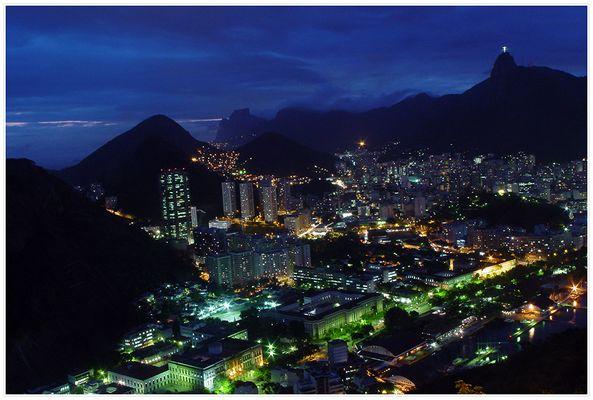 Rio de Janeiro @ night