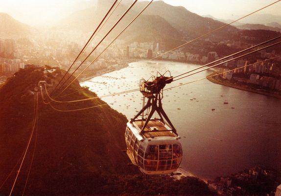 Rio de Janeiro vom Zuckerhut gesehen