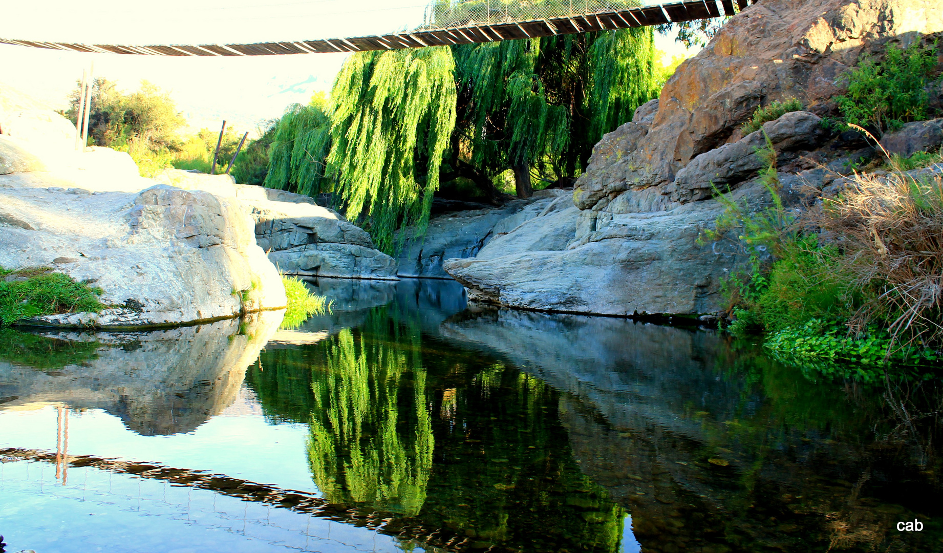 rio de pedernal..chile quinta region