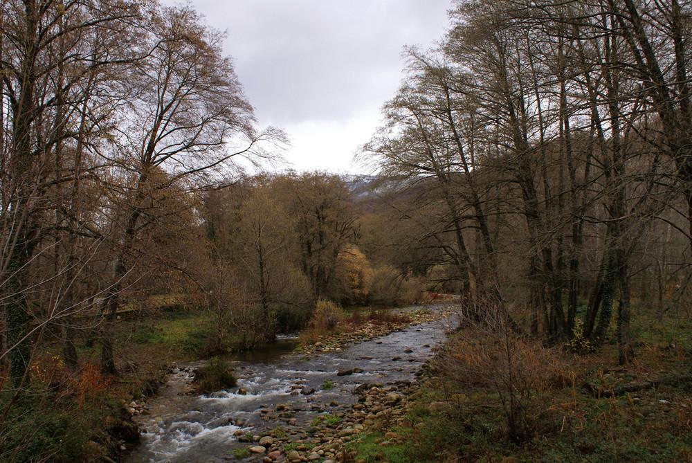 Rio en el Valle del Jerte