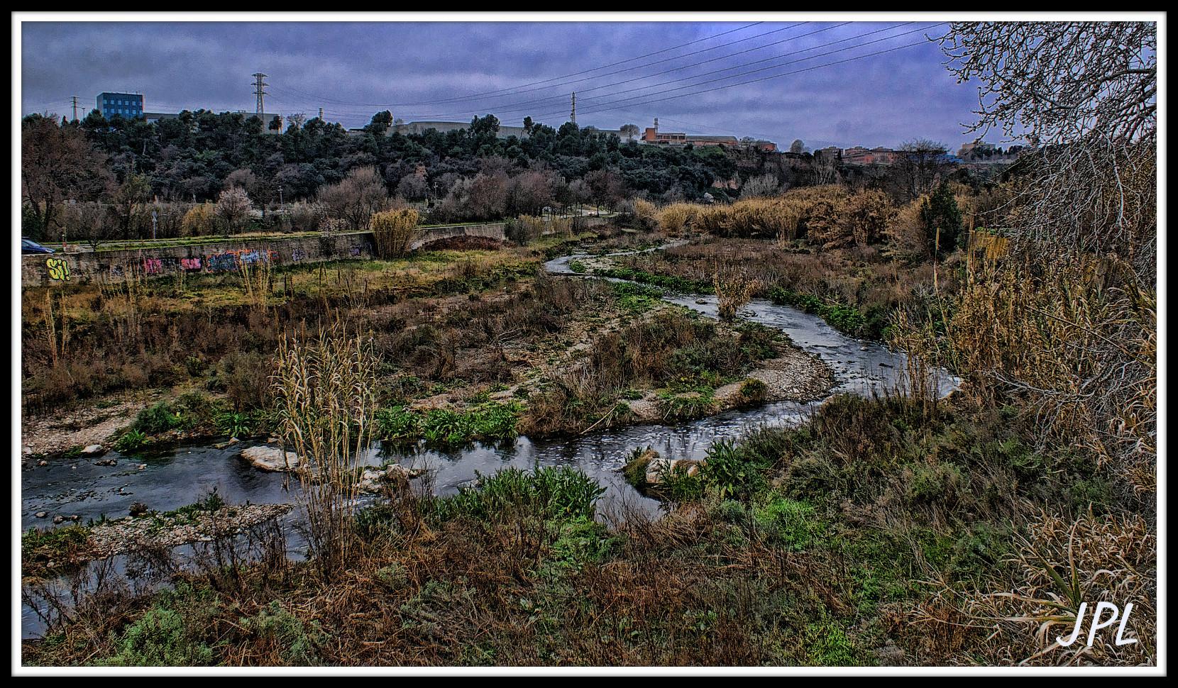 Río Ripoll, a su paso por Barbera Del Valles