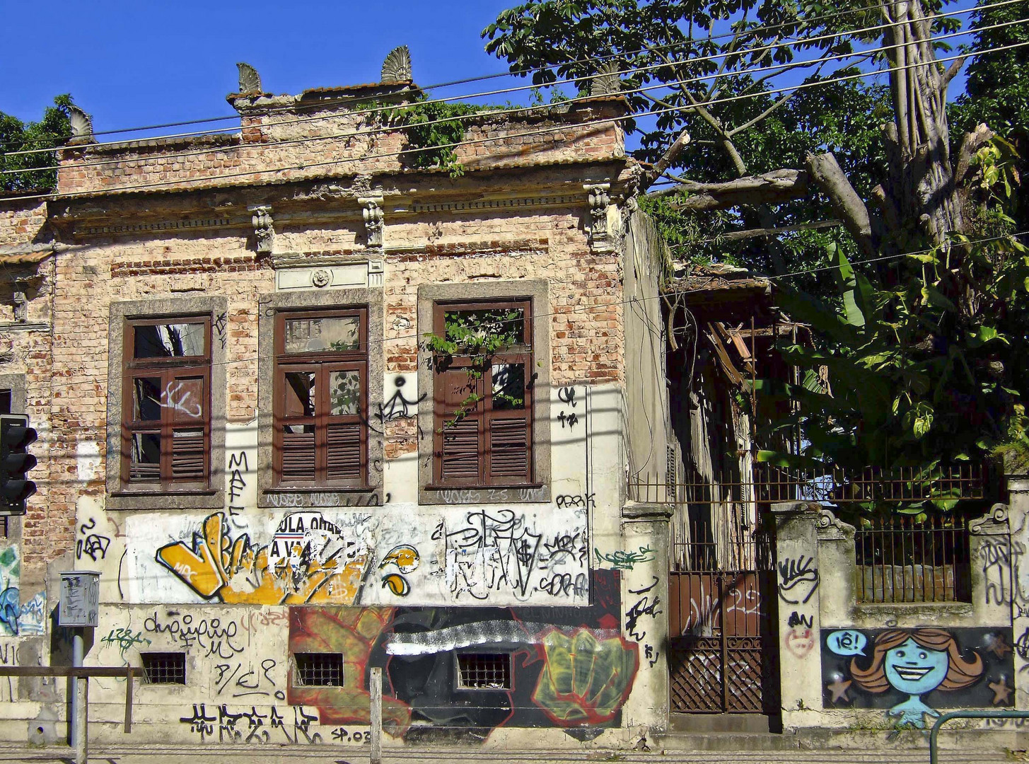 Rio - Ruine am botanischen Garten
