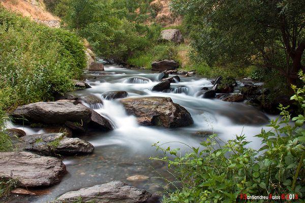 Rio San Juan, con efecto seda.
