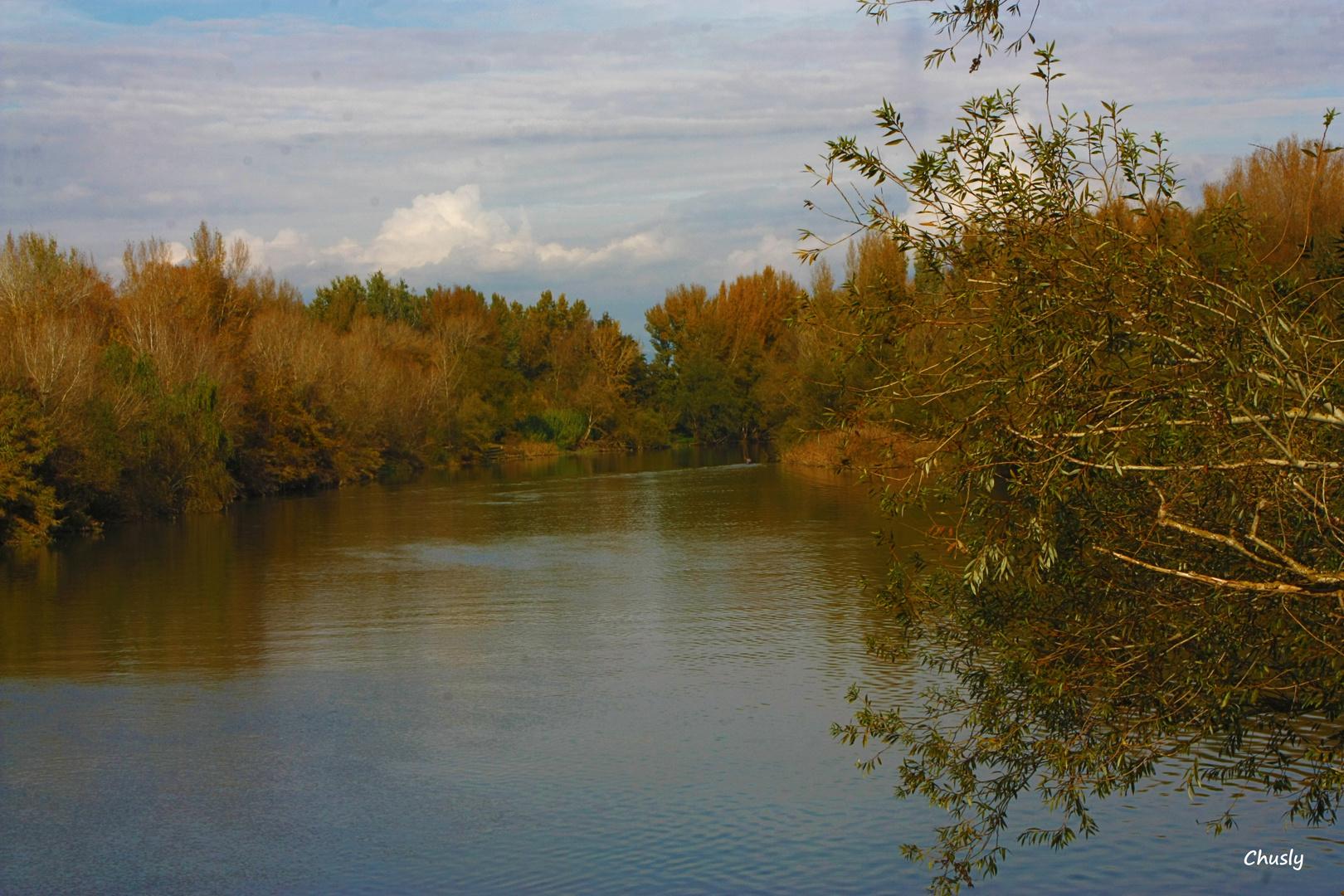 Rio Segre en la Mitjana