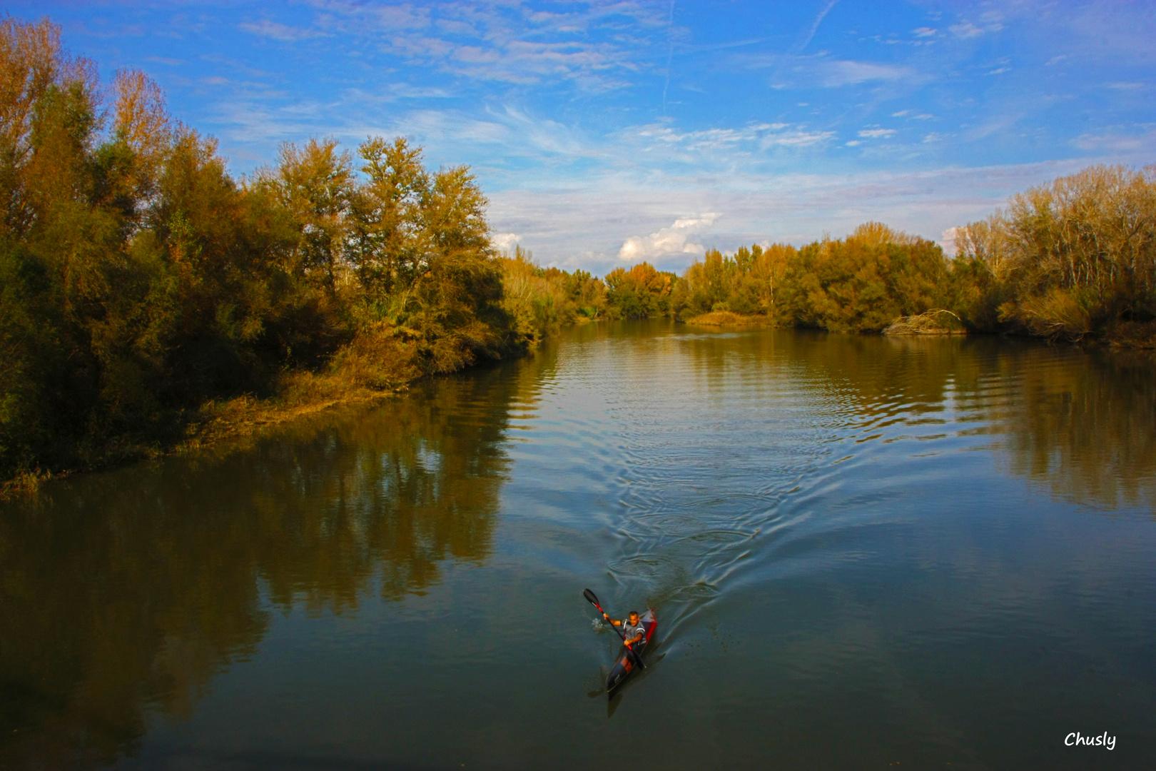 Rio Segre en otoño 9