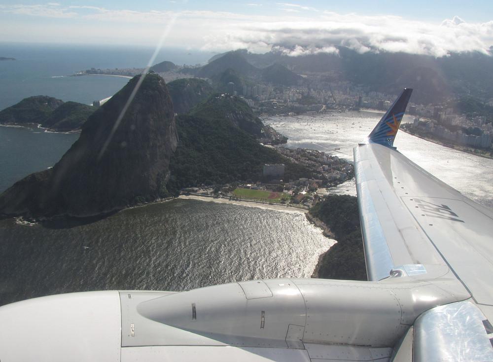 Rio, Zuckerhut im Gegenlicht