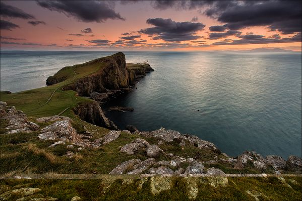 [ _rising night // Neist Point, Isle of Skye]