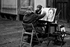 """"""" Ritratti di Street notturno """""""