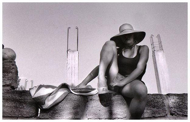 Ritratto con cappello (Calabria, ago2008)