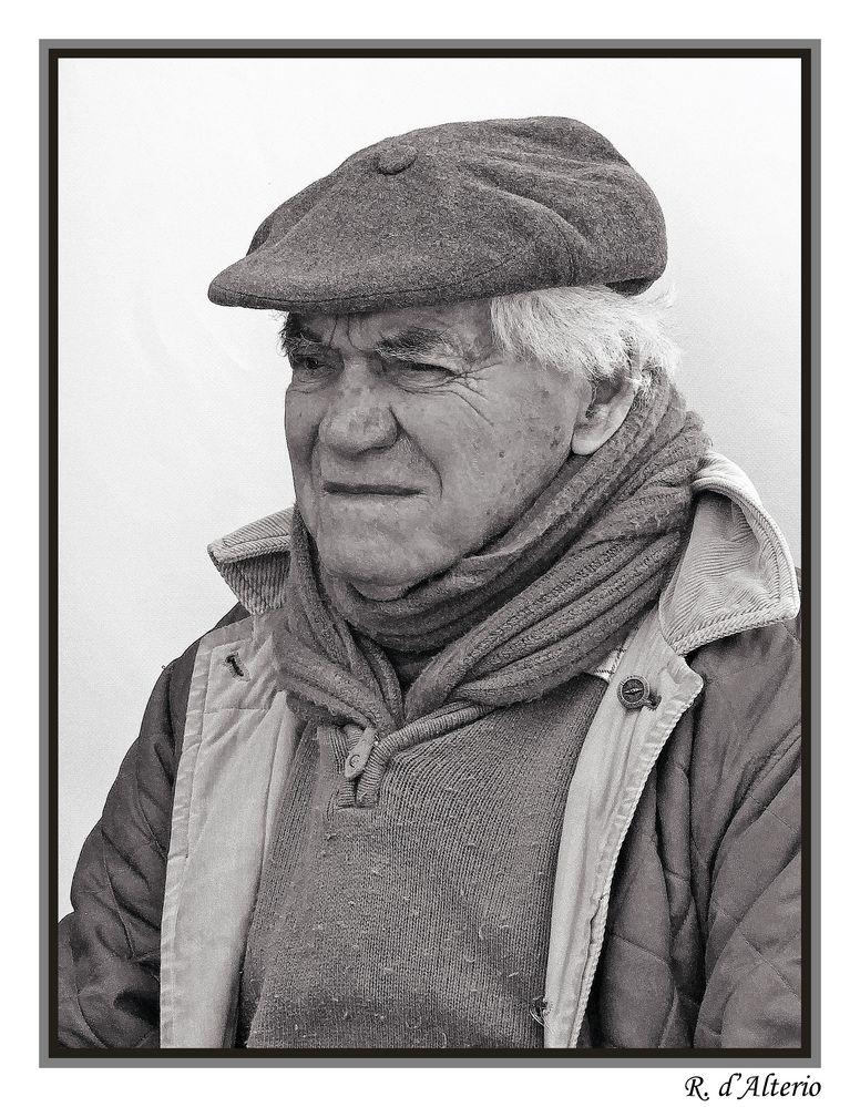 Ritratto di contadino con cappello